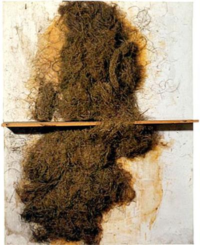 Palla i fusta, 1969. Antoni Tàpies